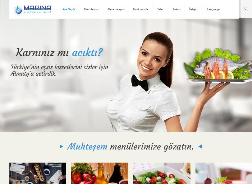 Marina Et ve Balık Restaurant Referans